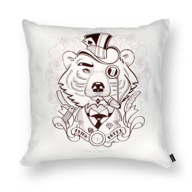 admirable BEAR - cushion 45x45 cm