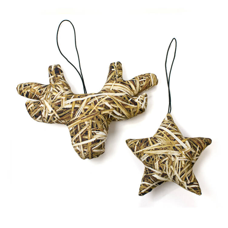 Ornaments / Stag + Star
